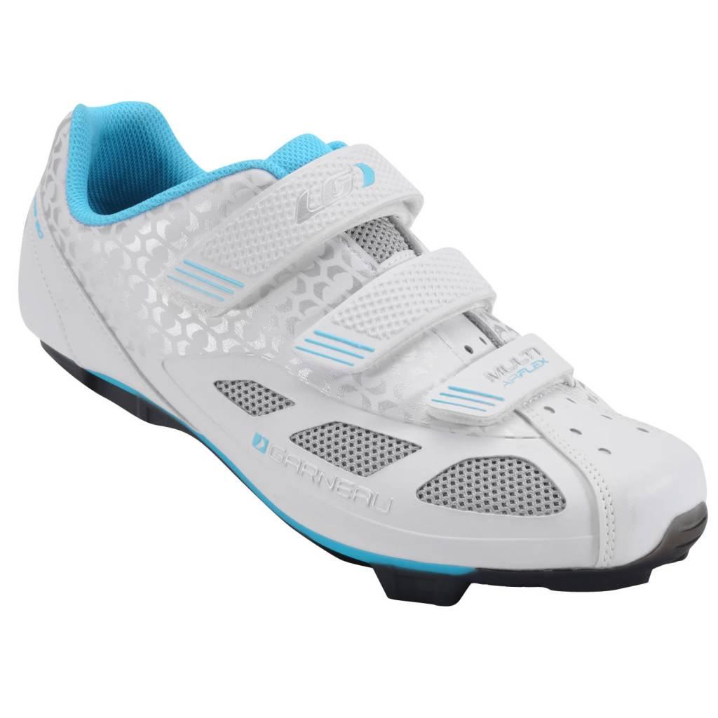 GIRO Louis Garneau Women's Multi Air Flex Cycling Shoes - White - 38