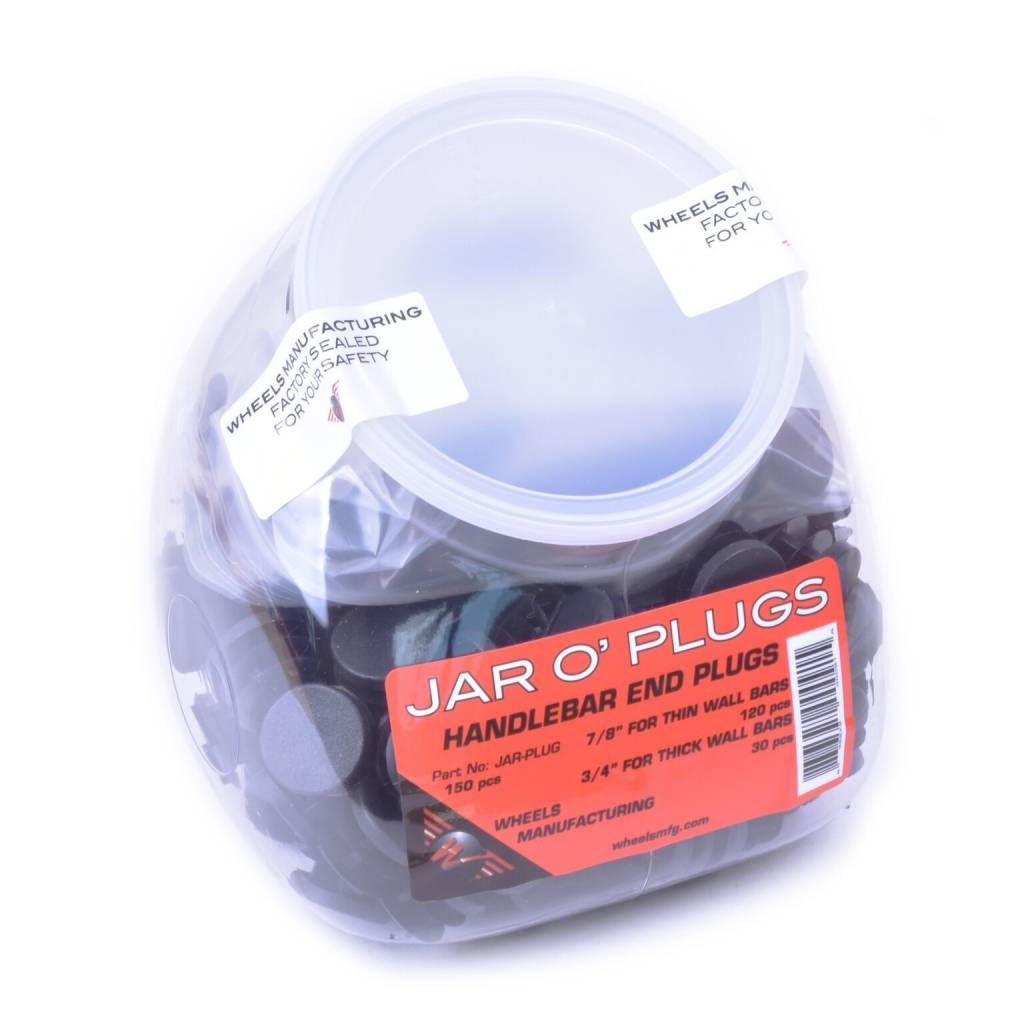 Wheels Manufacturing WHEELS MFG JAR O'PLUGS - Handlebar End Plugs -  150PC