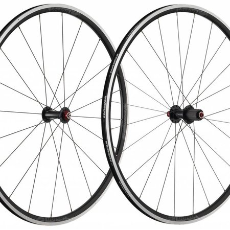 Full Speed Ahead Vision Team 25 Wheelset , 20/24H - 700c  Black Decal, WH-VT-65A {Shimano 11spd}