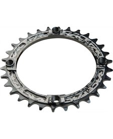 Race Face Narrow-Wide Single Ring 34t x 104 Black