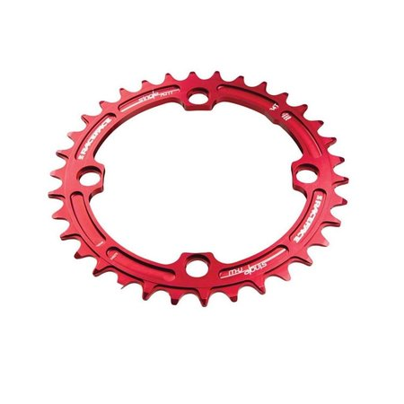 Race Face Race Face Narrow-Wide Single Ring 32t x 104 Red