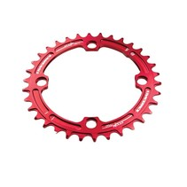 Race Face Narrow-Wide Single Ring 34t x 104 Red
