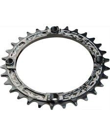 Race Face Narrow-Wide Single Ring 32t x 104 Black
