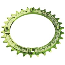 Race Face Narrow-Wide Single Ring 32t x 104 Green