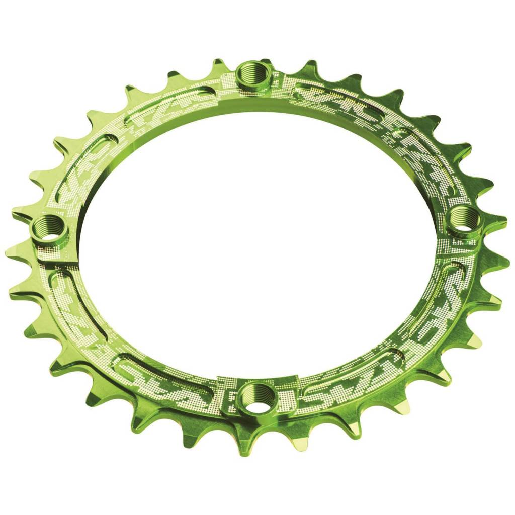 Race Face Race Face Narrow-Wide Single Ring 32t x 104 Green