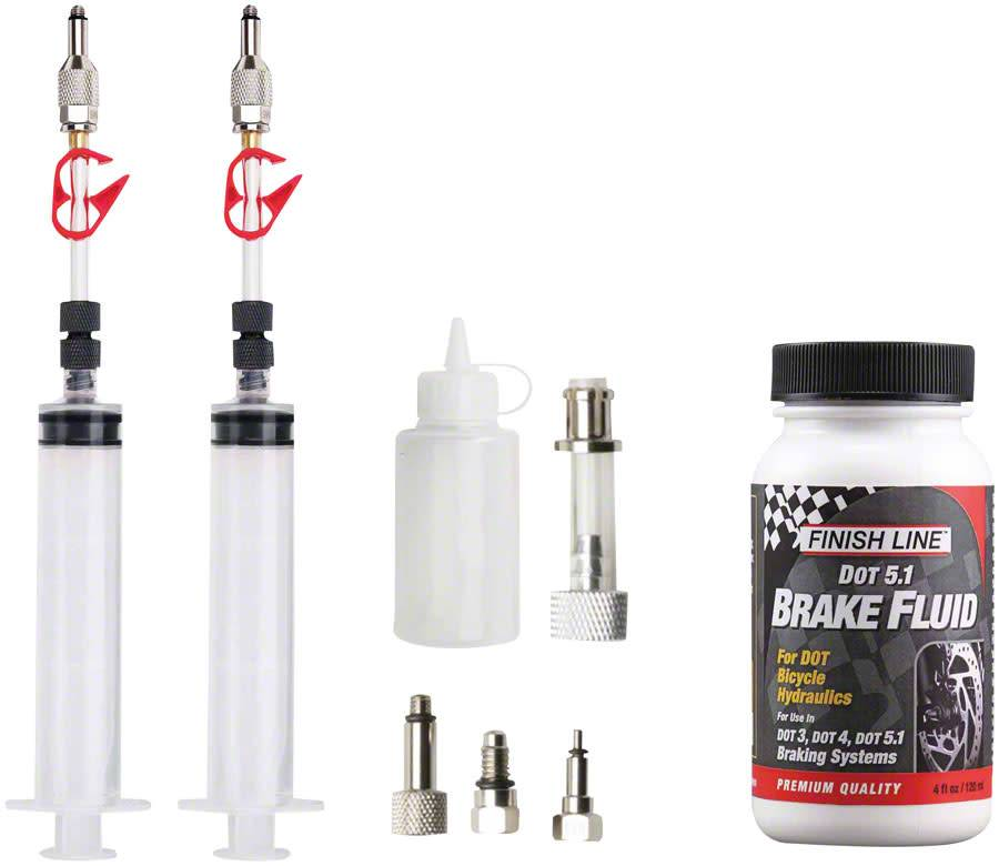 Jagwire Jagwire Pro DOT Bleed Kit Includes Avid Formula Hayes Formula Hope Adaptors