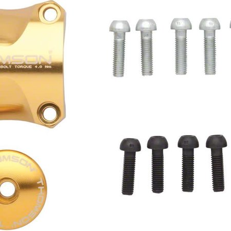 Thomson Thomson Stem Faceplate Dress Up Kit For X4: 31.8mm Gold