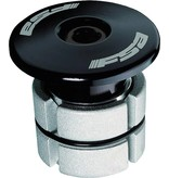 "Full Speed Ahead FSA Compressor 1-1/8"" Black Expander Plug and Top Cap"