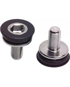 Problem Solvers 8mm Hex Crank Arm Fixing Bolt/Cap Pair