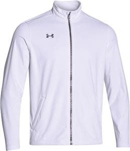 Under Armour Under Armour Men's White Ultimate Team Softshell Jacket, White, XL