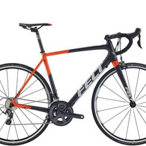Felt 2017 FR3 Matte Carbon (Orange, Pewter) 56