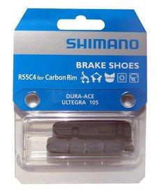Shimano R55C4 Road Brake Pads for Carbon Rims Pair