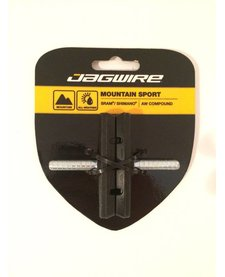 Jagwire Mountain Sport Brake Pads Smooth Post 70mm Pad, Black
