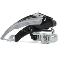 FRONT DERAILLEUR, FD-TX50-6, TOP-SWING, DUAL-PULL FOR REAR