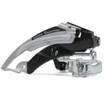 Shimano FRONT DERAILLEUR, FD-TX50-6, TOP-SWING, DUAL-PULL FOR REAR