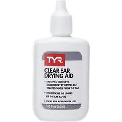 TYR TYR Clear Ear-Drying Aid 1.0 Fl oz