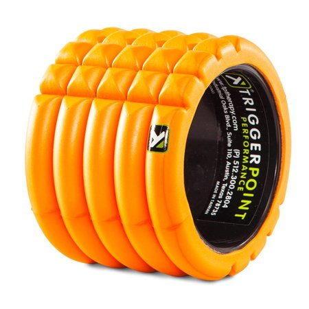 Trigger Point Trigger Point Grid Mini Foam Roller: Orange