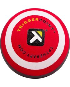 "Trigger Point MBX Massage Ball, 2.5"" diameter, Black/Red"