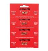 SRAM SRAM CHAIN PART POWERLINK2 9-SPEED 6.6MM GOLD 4 PACK