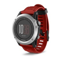 Garmin fenix 3 Silver with Red Band Watch Only