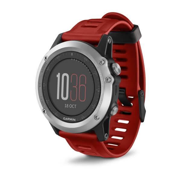 Garmin Garmin fenix 3 Silver with Red Band Watch Only