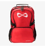 Nfinity Classic Luxe Back Packs Red/White Logo
