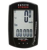 Cateye Strada Digital Double Computer 2.4GHZ Wireless Speed/Cadence: Black
