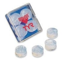 TYR Soft Silicone Ear Plugs 4 pkg