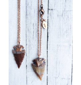 Hawk House Arrowhead Fossil Necklace
