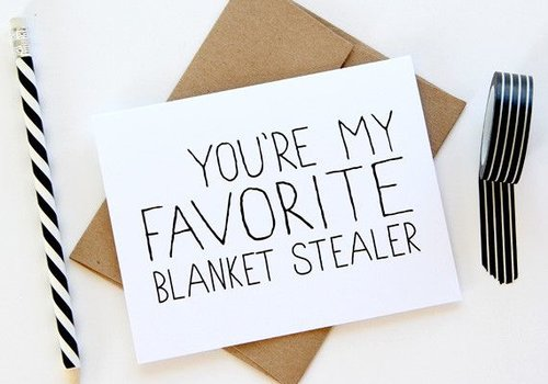 Julie Ann Art Blanket Stealer Card