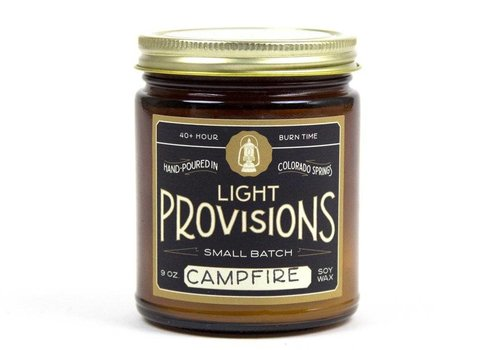 Light Provisions Campfire Candle - 9 oz
