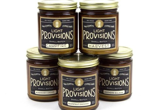 Light Provisions Lavender Balsam Candle - 9 oz.