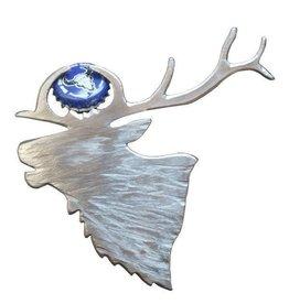 Blue Moose Metals Elk Bottle Opener