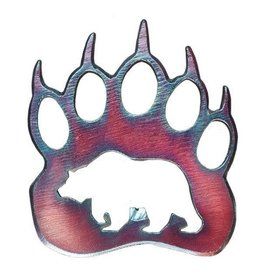 Blue Moose Metals Grizzly Paw Bottle Opener