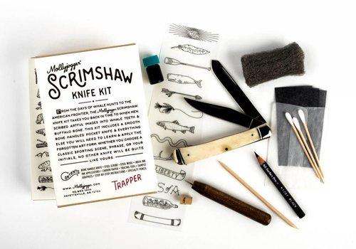 Mollyjogger Scrimshaw Kit + Trapper Knife