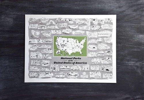 Brainstorm National Parks Print