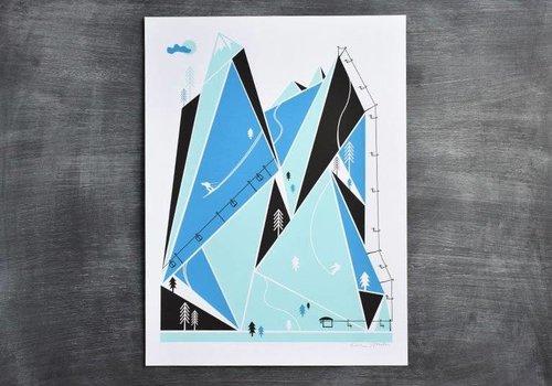 Brainstorm Ski Resort Print
