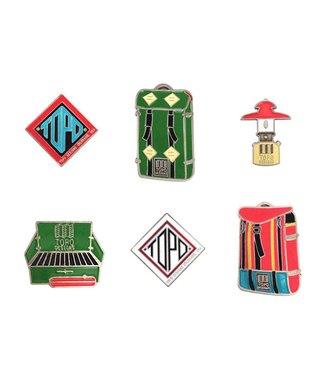 Topo Designs Enamel Pin
