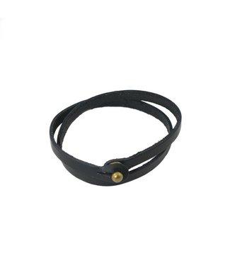 Rustico Skinny Leather Bracelet