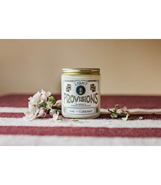 Light Provisions 8 oz Oak + Currant Candle
