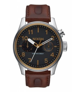 Nixon Safari Deluxe Leather