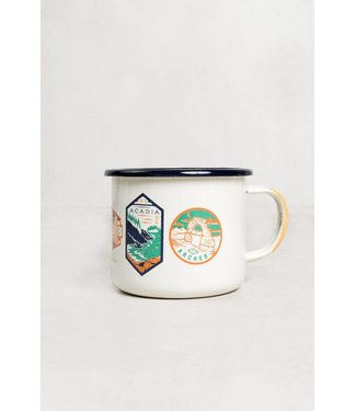 United By Blue National Parks Enamel Mug