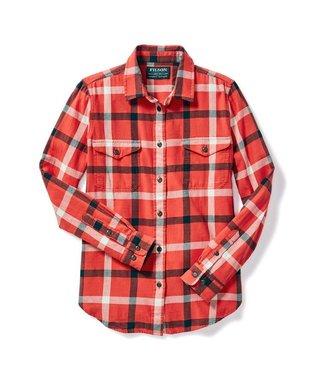 Filson Scout Shirt - W - Red/Cream/Black