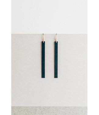 Townsend Collective Black Bar Earring