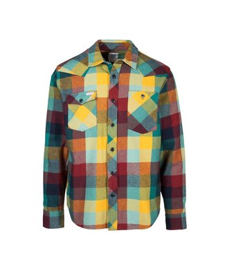 Topo Designs Heavyweight Work Shirt - Mustard Glacier
