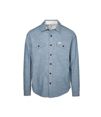 Topo Designs Topo Chambray Shirt - Blue