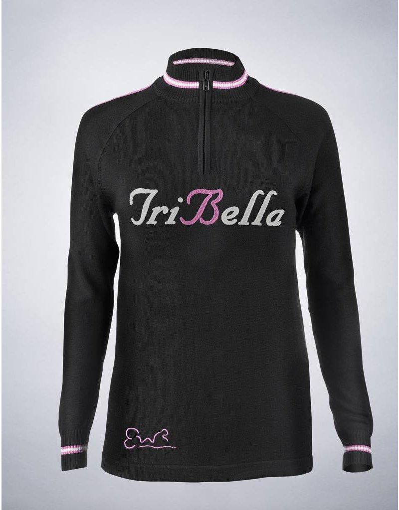 EW&R TriBella Wool Jersey 1/4 zip