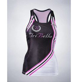 Sugoi TriBella Tri Tank Racing Stripe-