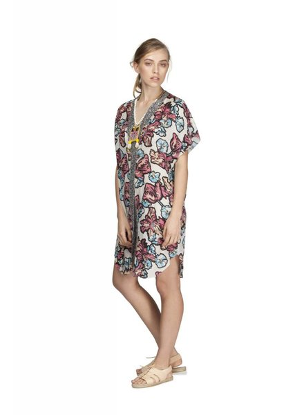 MEGAN PARK Megan Park Patchprint Coverup