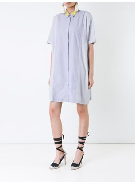 MEGAN PARK Megan Park Stripe Shirt Dress